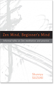 Zen Mind Beginner's Mind book cover