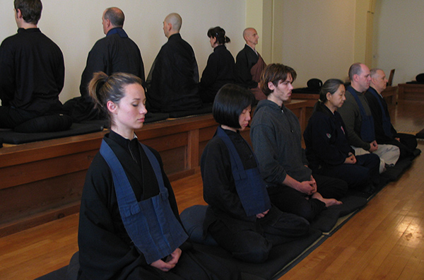 Meditation in the City Center Zendo