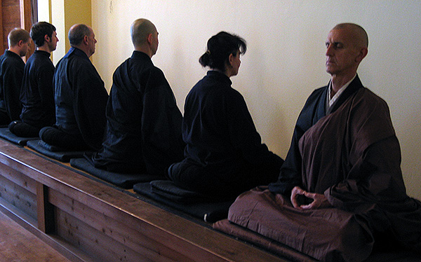 Zen Meditation in the Zendo